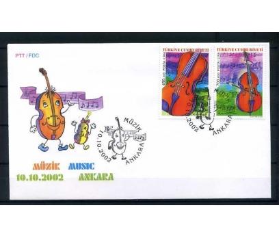 CUMH.FDC 2002 MÜZİK SÜPER
