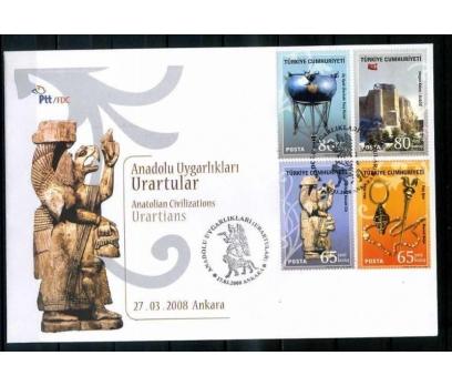 CUMH.FDC 2008 ANADOLU UYGARLIKLARI (URARTU)  SÜPER