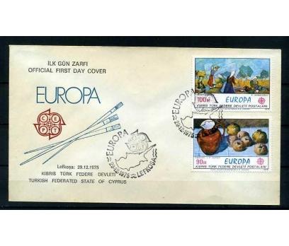 KKTC FDC 1975 EUROPA CEPT  SÜPER
