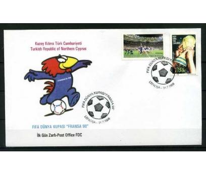 KKTC FDC 1998 FİFA DÜNYA KUPASI FRANSA 98 SÜPER