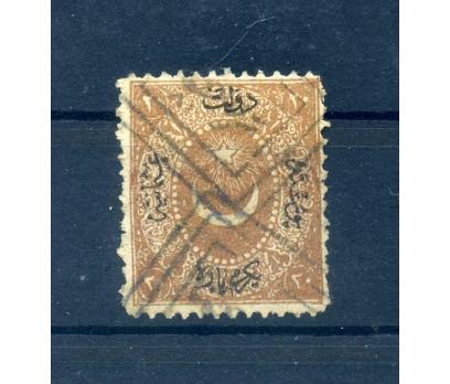 OSMANLI DAMGALI 1867 AYYILDIZLI (DULOZ) 20 P TAKSE