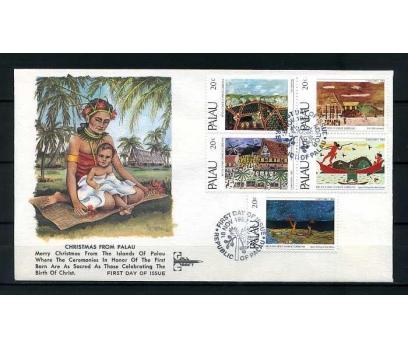 PALAU ADALARI 1983 FDC CHRISTMAS SÜPER (YZ-1)