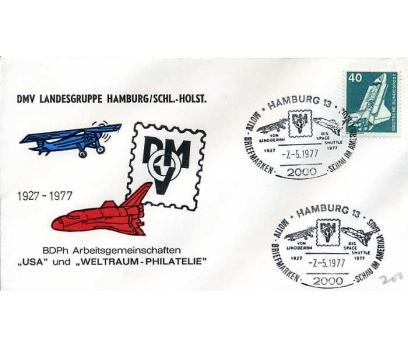 ALMANYA 1977 UÇAK ÖZEL DAMGA  SÜPER(YZ-1)