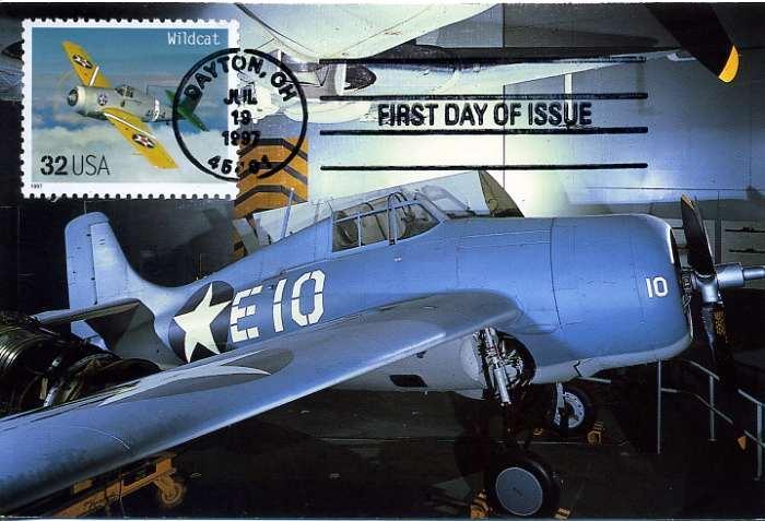 ABD 1997 UÇAK KART MAKSİMUM  SÜPER(YZ-1) 1