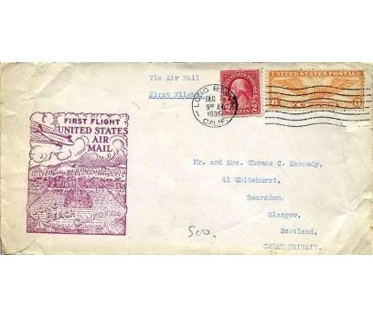 ABD  1936 UÇAK ÖZEL DAMGA  SÜPER(YZ-1)