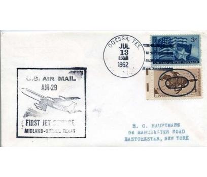 ABD  1962 UÇAK ÖZEL DAMGA  SÜPER(YZ-1)
