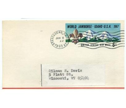 ABD  1968 İZCİLİK ANTİYE  SÜPER (YZ-1)