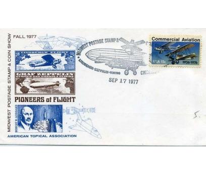 ABD  1977 UÇAK ÖZEL DAMGA  SÜPER(YZ-1)