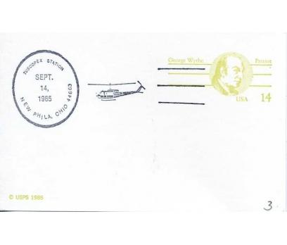 ABD  1985 UÇAK ÖZEL DAMGA  SÜPER(YZ-1)