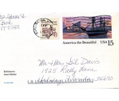 ABD  1989 GEMİ  ANTİYE  SÜPER(YZ-1)
