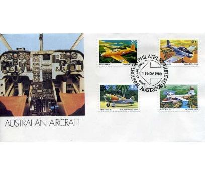 AVUSTRALYA  1980 UÇAK ÖZEL DAMGA  SÜPER(YZ-1)