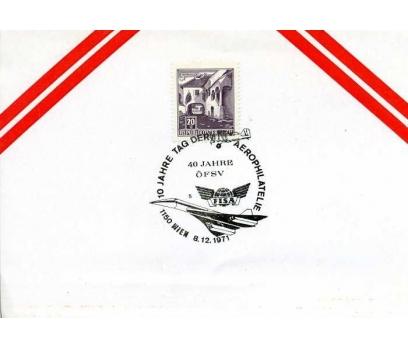 AVUSTURYA 1971 UÇAK ÖZEL DAMGA  SÜPER(YZ-1)