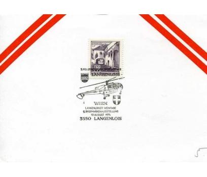 AVUSTURYA 1974 UÇAK ÖZEL DAMGA  SÜPER(YZ-1)