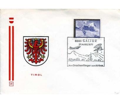 AVUSTURYA 1979 UÇAK ÖZEL DAMGA  SÜPER(YZ-1)