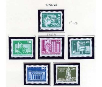 DDR ** 1973- 75 POSTA  4 TAM SERİ SÜPER