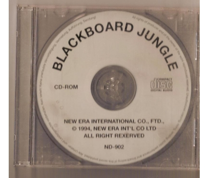 Black Board Jungle 1994 MÜZİK CD