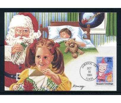 ABD 1984 KART MAX. CHRISTMAS SÜPER