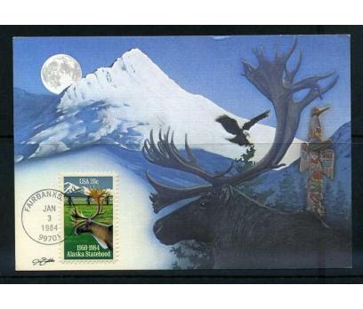 ABD 1984 KART MAX. GEYİKLER  SÜPER