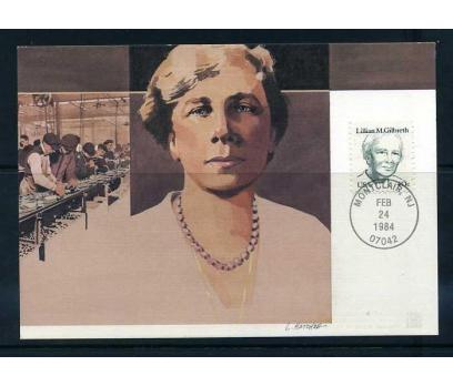 ABD 1984 KART MAX. LILLIAN M.GILBRETH  SÜPER