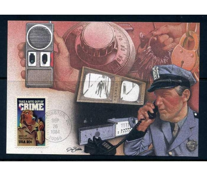 ABD 1984 KART MAX. POLİS SÜPER