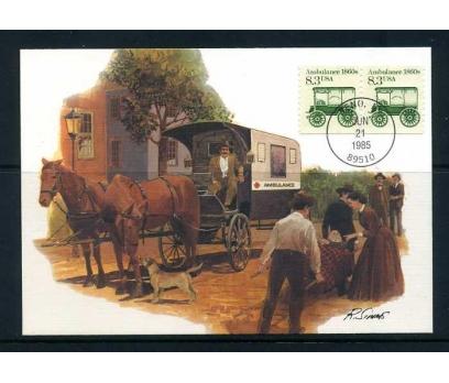 ABD 1985 KART MAX. 1860' LAR AMBULANS  SÜPER
