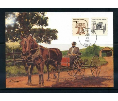 ABD 1985 KART MAX. 1880' LER ATLI ARABA  SÜPE