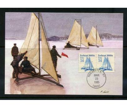 ABD 1985 KART MAX. 1880' LER YELKENLİ  SÜPER