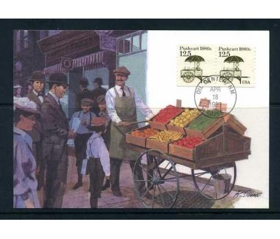 ABD 1985 KART MAX. 1880'LER SEBZECİ ARABASI