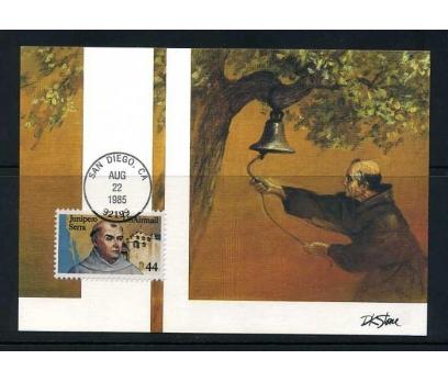 ABD 1985 KART MAX. JUNIPERO SERRA  SÜPER