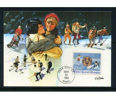 ABD 1985 KART MAX. KIŞ OLİMPİYATLARI SÜPER