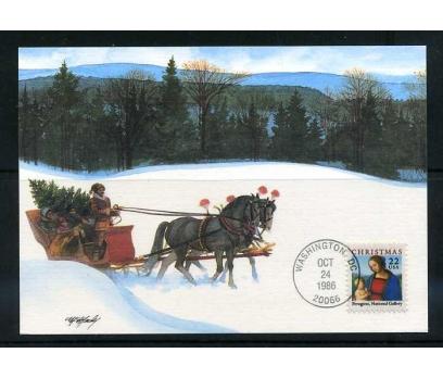 ABD 1986 KART MAX. CHRISTMAS SÜPER 1