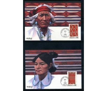 ABD 1986 KART MAX. KIZILDERİLİLER  4 ADET SÜPER 2