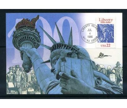 ABD 1986 KART MAX. ÖZGÜRLÜK HEYKELİ  SÜPER