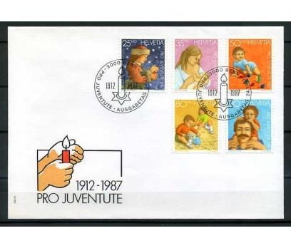 İSVİÇRE 1987 FDC  PRO JUV. SÜPER (280415)