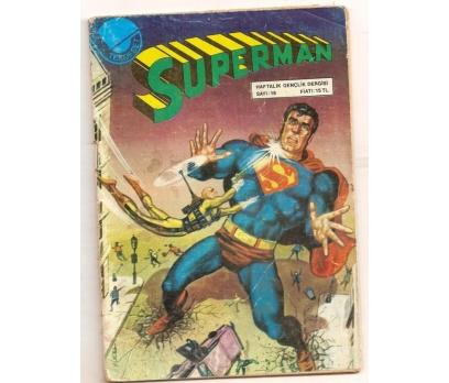 SUPERMAN SAYI 15 ÇİZGİ ROMAN