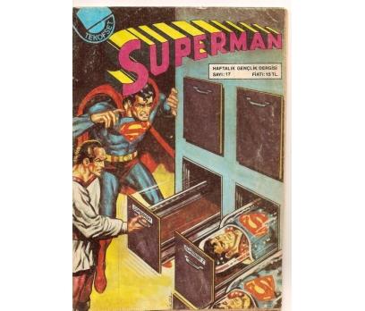 SUPERMAN SAYI 17 ÇİZGİ ROMAN