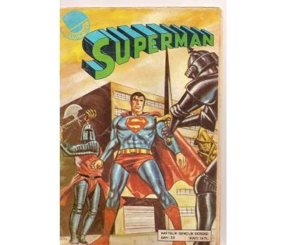 SUPERMAN SAYI 22 ÇİZGİ ROMAN