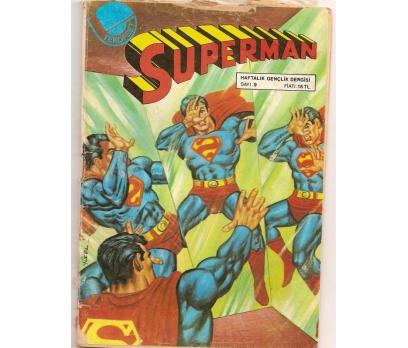 SUPERMAN SAYI 9 ÇİZGİ ROMAN