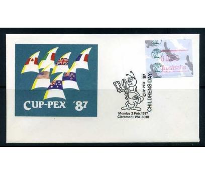 AVUSTRALYA 1987 Ö.D.YELKENLİ ÇOCUK G.CUP-PEX 87