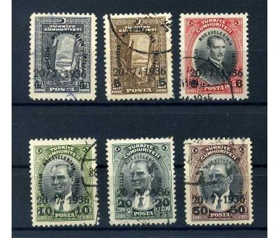 CUMHURİYET  DAMGALI 1936 BOĞAZLAR MUKAVELESİ(M)