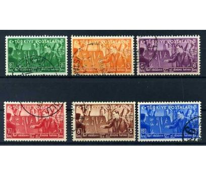 CUMHURİYET  DAMGALI 1938 HARF İNK.10.YILI SÜPER(M)
