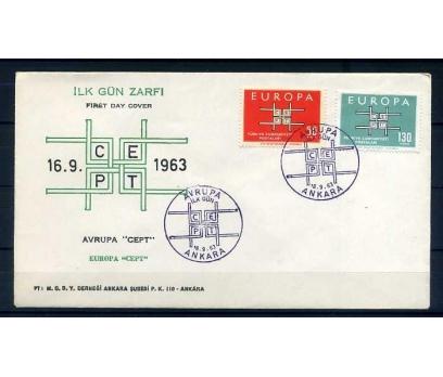 CUMH.FDC  1963 EUROPA CEPT SÜPER