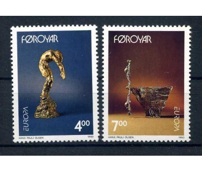 FAROE ADALARI ** 1993 EUROPA CEPT SÜPER