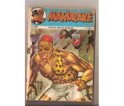 MANDRAKE - CİLD 209-210-211 FASİKÜLLER - TAY YAYIN