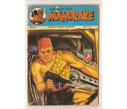 MANDRAKE - SAYI - 81 - 250 KURUŞ TAY YAYINLARI
