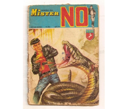 MİSTER NO SAYI:154 -1970 - 5 Lira TAY YAYINLARI