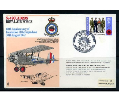 RAF ASKERİ UÇUŞ 1972 ARMSTRONG W.ATLAS SÜPER