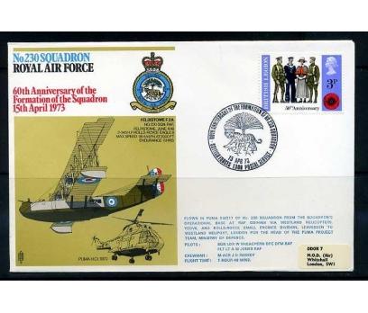 RAF ASKERİ UÇUŞ 1973  FELIXSTOWE  F.2A SÜPER