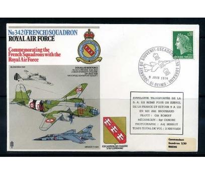 RAF ASKERİ UÇUŞ 1974 DOUGLAS BOSTON 3 SÜPER
