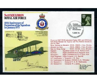 RAF ASKERİ UÇUŞ 1975 HANDLEY PAGE HINAIDI SÜPER